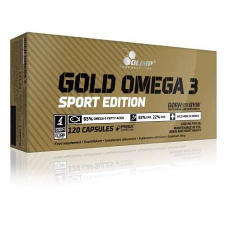 Gold Omega 3 Sport Edition (120 capsules)