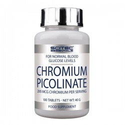 Chromium Picolinate (100 tablettes) Scitec Nutrition essentials
