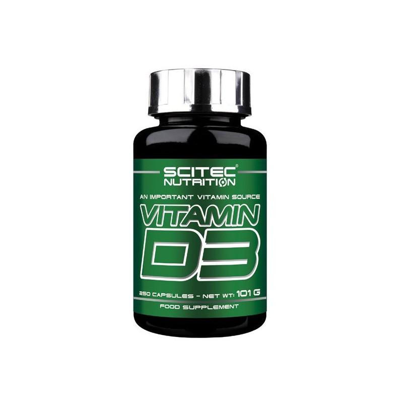 Vitamine D3 (250 capsules) Scitec Nutrition