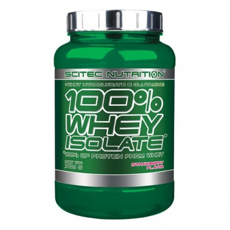 100% Whey Isolat 700 gr fraise Scitec Nutrition