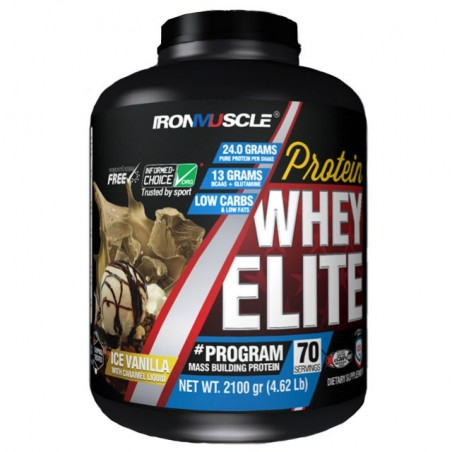 Whey Elite (2100 gr) Ironmuscle - Whey protéine