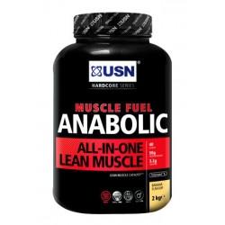 Muscle Fuel Anabolic 2000 gr banane USN Nutrition - Gainer riche en protéines