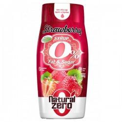 Sirop de fraise 0% (300 gr) Natural Zero