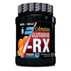 GLUTAMINE RX (600 gr) Iron Muscle