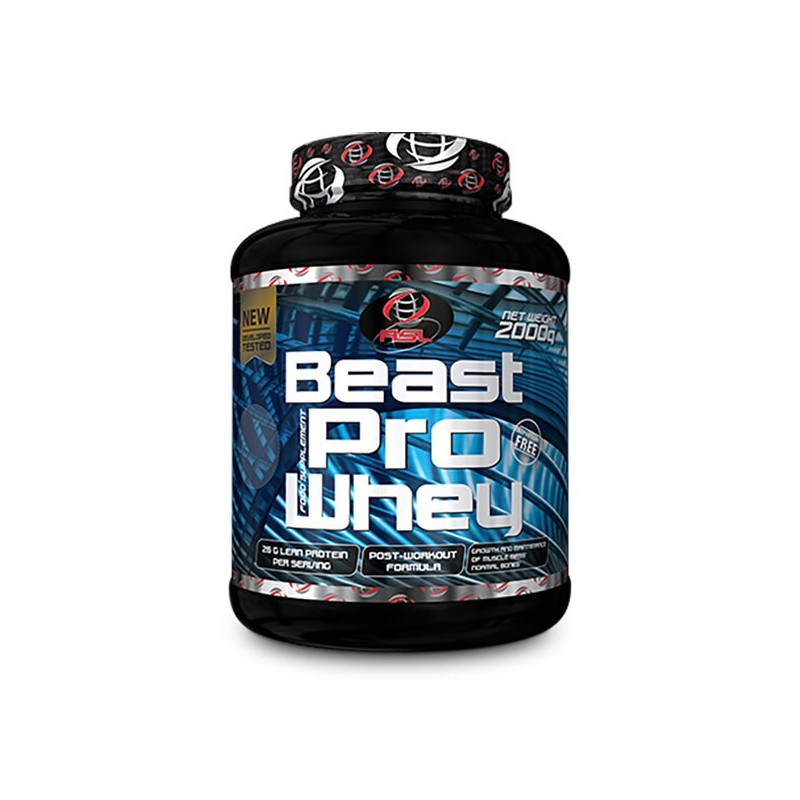 Beast Pro Whey (2000 gr) All Sports Labs