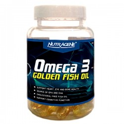 Omega 3 Golden Fish Oil 60 capsules Nutragene