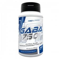 Gaba 750 (60 capsules) Trec Nutrition