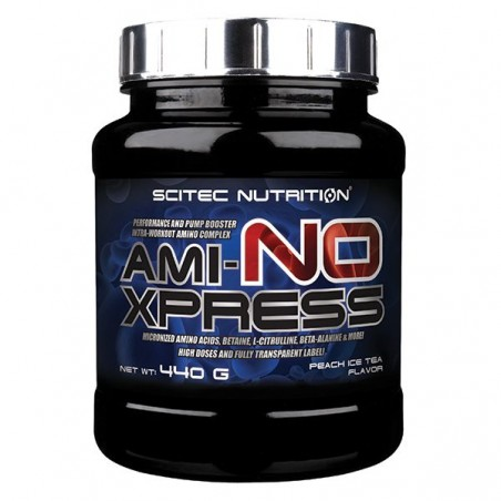 Ami-NO Xpress (440 gr) Ice Tea Peche Scitec Nutrition