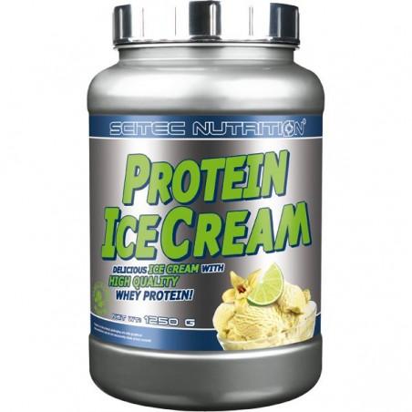 Protein Ice Cream Vanille Citron Vert Scitec Nutrition 1250 gr