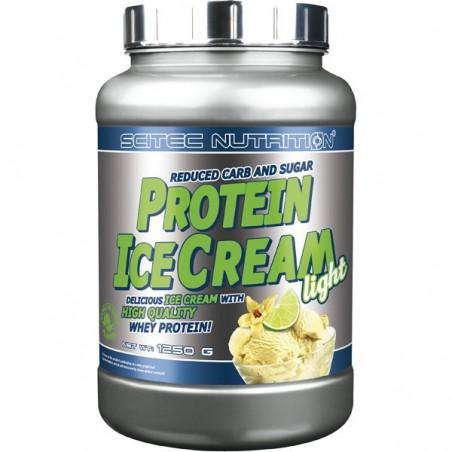 Protein Ice Cream LIGHT Vanille Citron Vert Scitec Nutrition 1250 gr