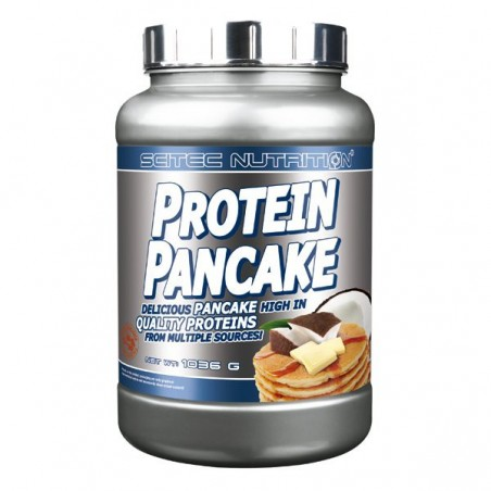 Protein Pancake chocolat blanc coco Scitec Nutrition 1036 gr