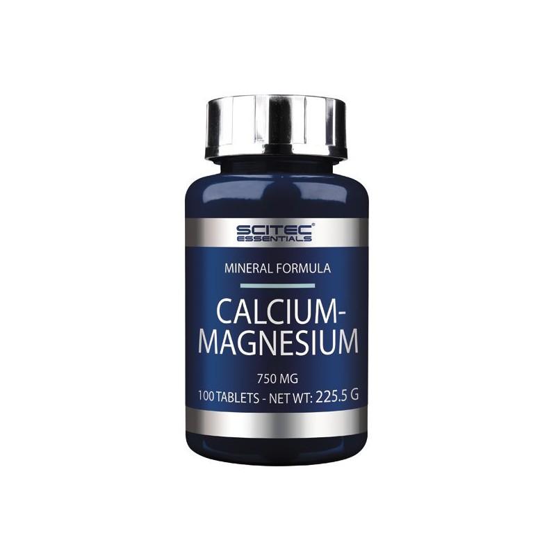 Calcium-Magnésium (100 comprimés) Scitec Nutrition