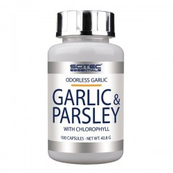 Ail et Persil (100 comprimés) Garlic Parsley Scitec Nutrition