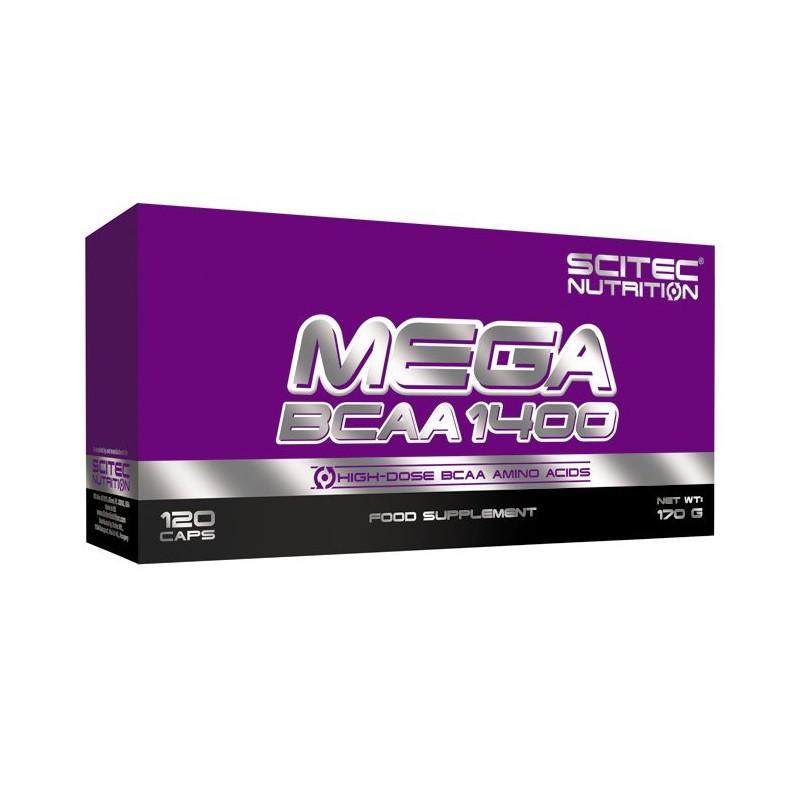 Mega BCAA 1400 (120 capsules) Scitec Nutrition