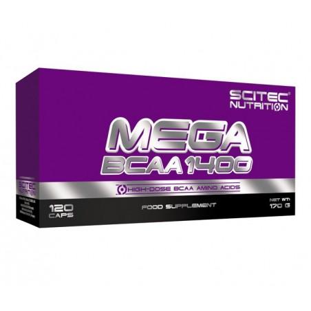 Mega BCAA 1400 (120 capsules)