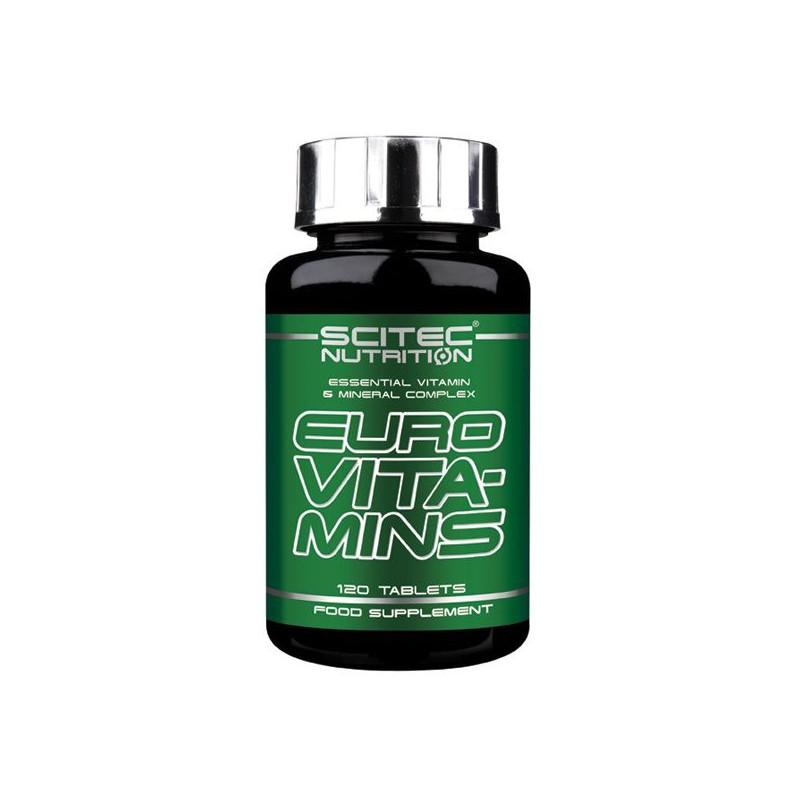 Euro Vita-Mins (120 comprimés) Scitec Nutrition