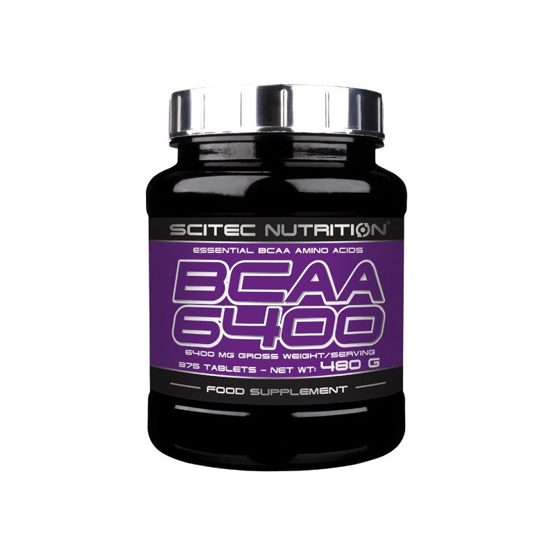 BCAA 6400 375 tablettes Scitec Nutrition