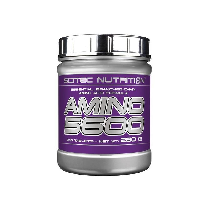 Amino 5600 200 tablettes Scitec Nutrition