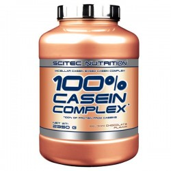 100% Casein Complex 2350 g chocolat belge Scitec Nutrition
