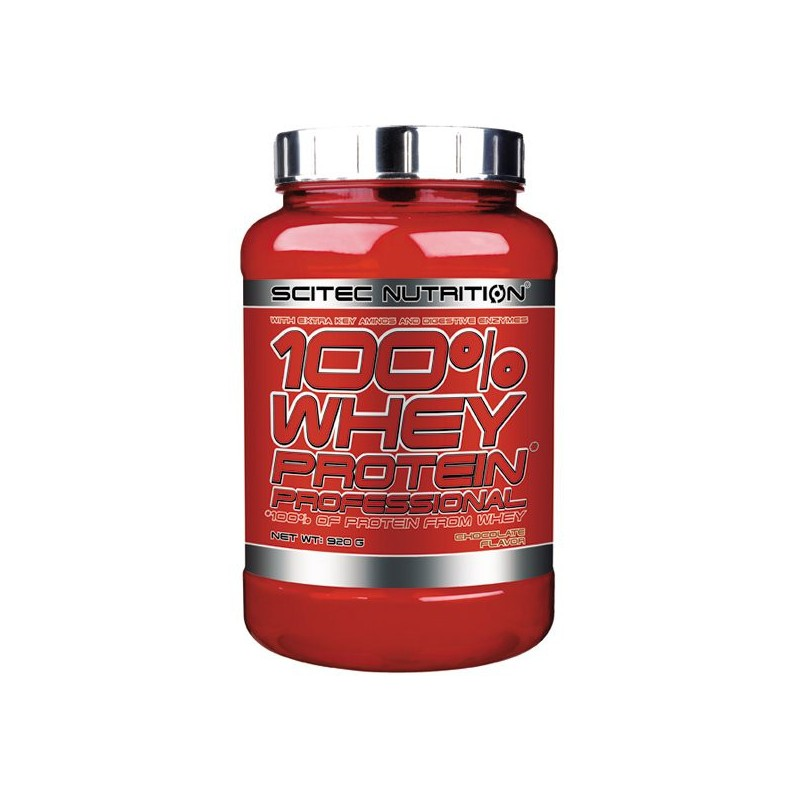 Protéine 100% Whey Protein Professional 920 g Chocolat Scitec Nutrition