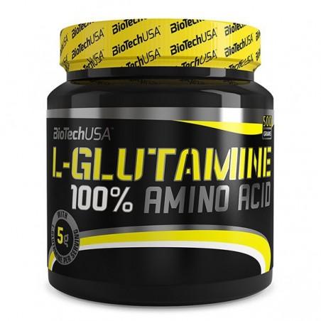 100% L-Glutamine (500 g) Biotech USA
