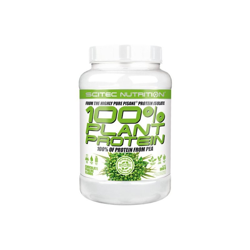 100% Plant Protein (900 g) Scitec Green Series