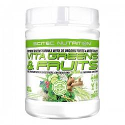 Vita Greens & Fruits avec Stevia (360 g) - Pomme verte - Scitec Green Line
