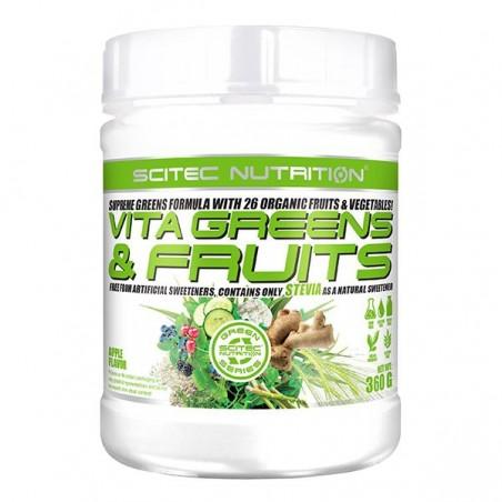 Vita Greens & Fruits avec Stevia (360 g) - Pomme verte