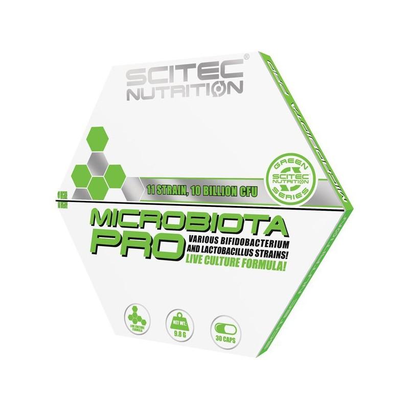 Microbiota Pro (30 capsules), bifidobactérium et lactobacillus, Scitec Green Line