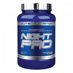 Night Pro, protéine de nuit, 900g, chocolat, Scitec Nutrition