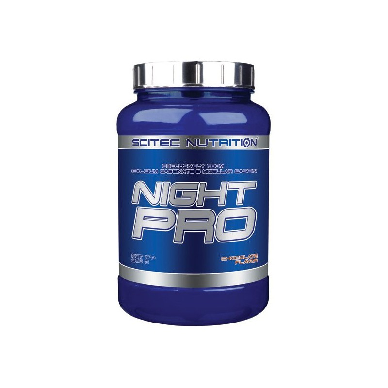 Night Pro, protéine de nuit, 900g, chocolat, Scitec Nutrition