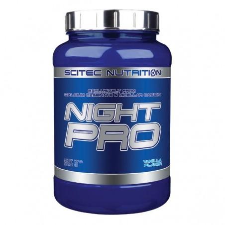 Night Pro, protéine de nuit, 900g, vanille, Scitec Nutrition