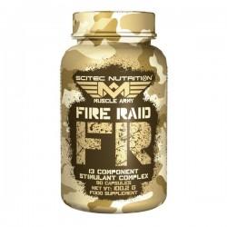 Fire Raid, brûleur de graisse, 90 gélules, Scitec Nutrition