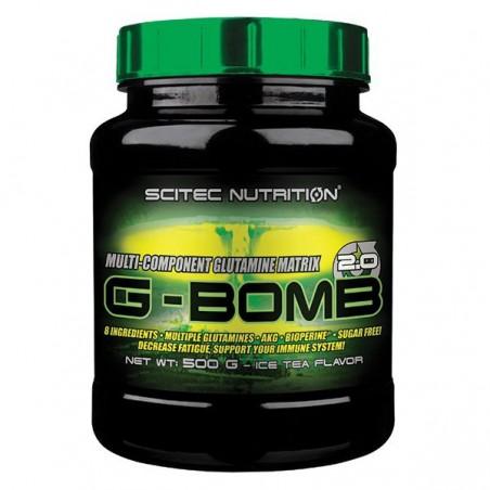 G-Bomb 2.0 thé glacé (ice tea), 500 g, formule pre-entrainement, Scitec nutrition