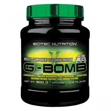 G-Bomb 2.0 orange, 500 g, formule pre-entrainement, Scitec nutrition