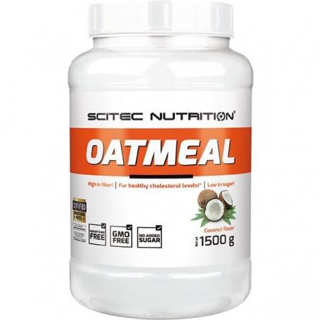 Oatmeal noix de coco, 1500 g, flocons d'avoine, Scitec Nutrition