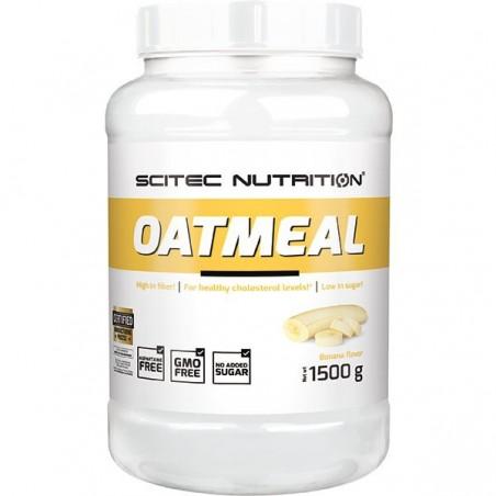 Oatmeal banane, 1500 g, flocons d'avoine, Scitec Nutrition