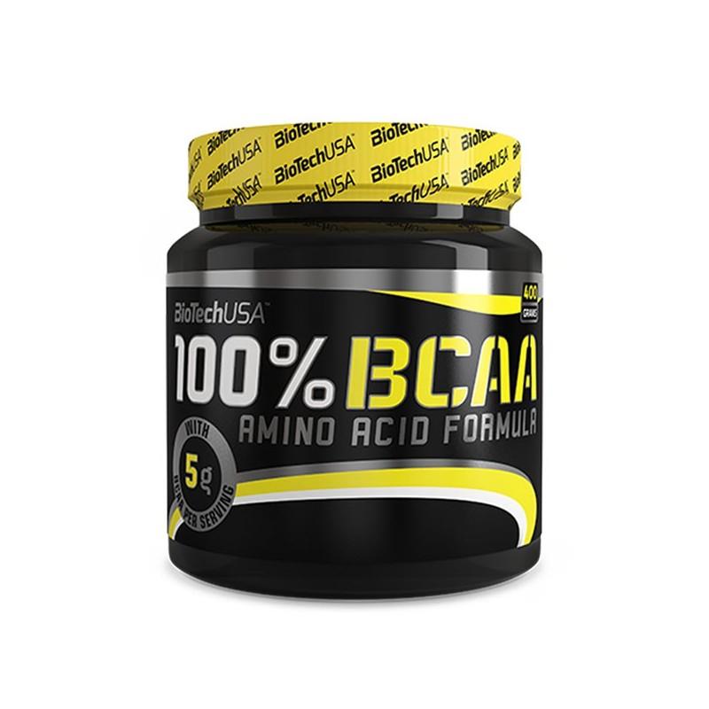 100% BCAA (400 g) Biotech USA