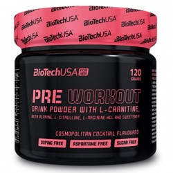 Pre Workout For Her 120 g BioTech USA - Pré entrainement Femme