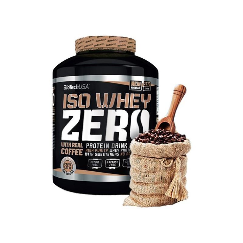 Iso Whey Zero Café Latte 2270 g BioTech USA