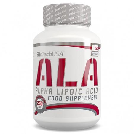 ALA - Acide Alpha-Lipoïque 50 capsules Biotech USA