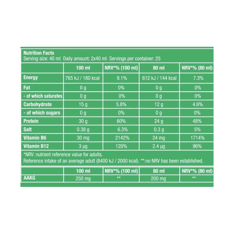 Liquid Amino 1000 ml - Acides aminés liquides - Biotech USA