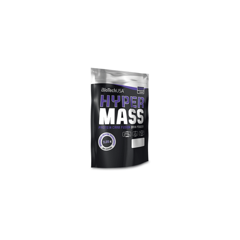 Hyper Mass 5000 - 1000 g - Gainer riche en protéine par Biotech USA