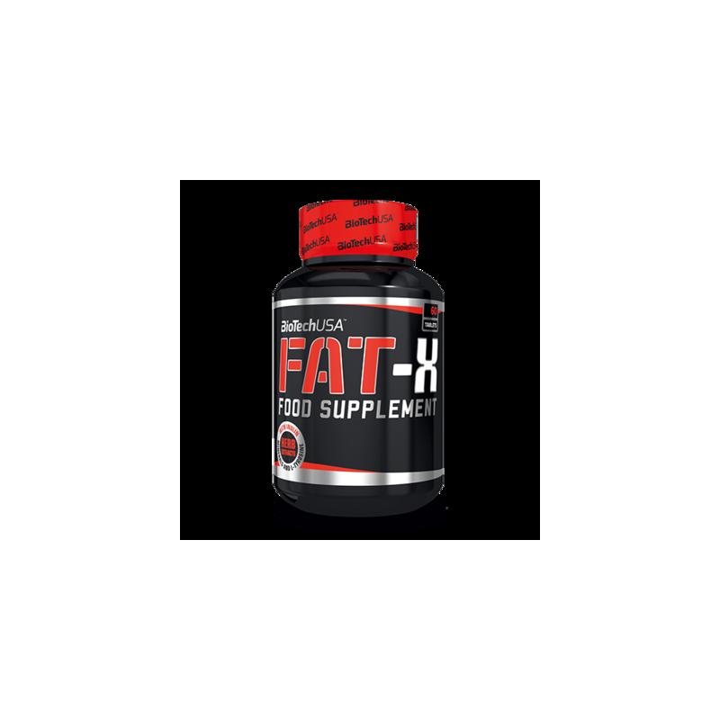 FAT-X - 60 comprimés - Brûleur de graisse - Biotech USA