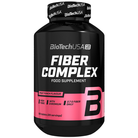 Fiber Complex 120 tablettes goût Fruit Punch