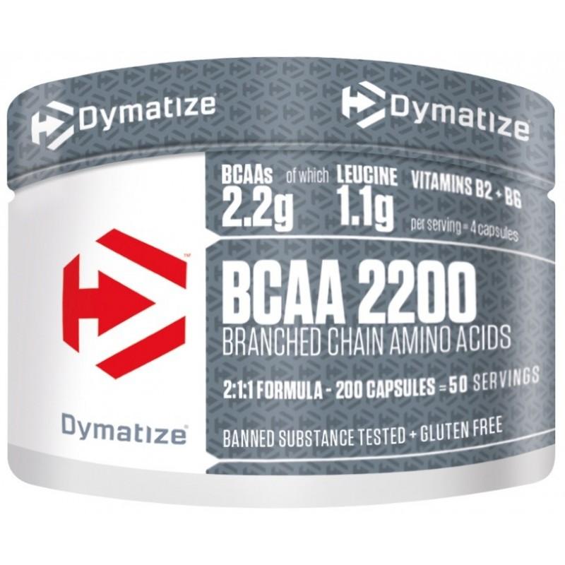 BCAA Complex 2200 - 200 caps