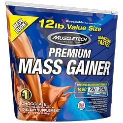 100% Premium Mass Gainer, Strawberry - 5440g