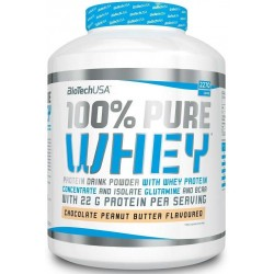 100% Pure Whey, Strawberry - 4000g