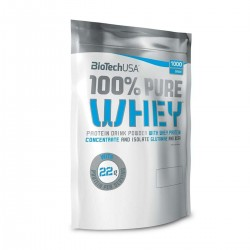 100% Pure Whey, Strawberry - 4000g