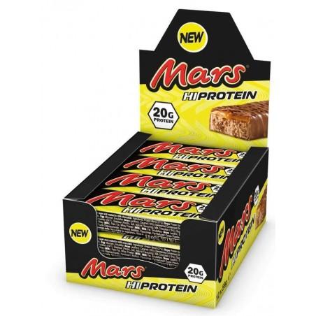 Mars barres protéinées (boite de 12 barres)
